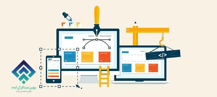 تاثیر طراحی وب بر بازاریابی محتوا
