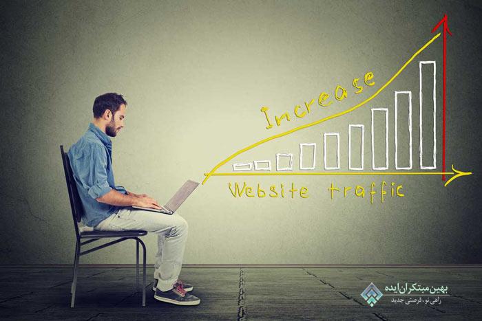 افزایش ترافیک وبلاگ