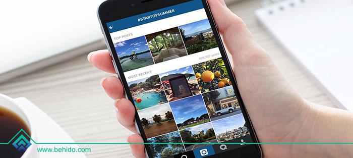 روش های قرار گرفتن در صفحه Instagram Explore