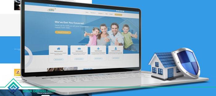 ویژگی های لازم برای طراحی وب سایت برای شرکت های بیمه
