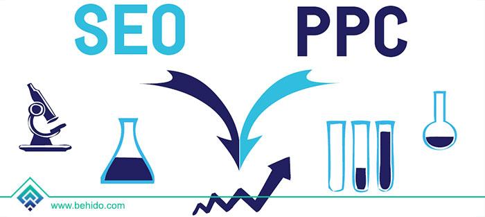 ترکیب PPC و سئو باعث افزایش دید در نتایج جستجو می شود